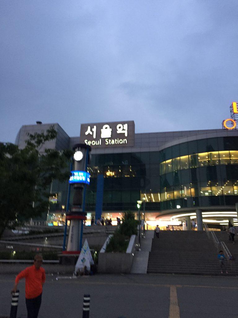 ソウル駅 バス