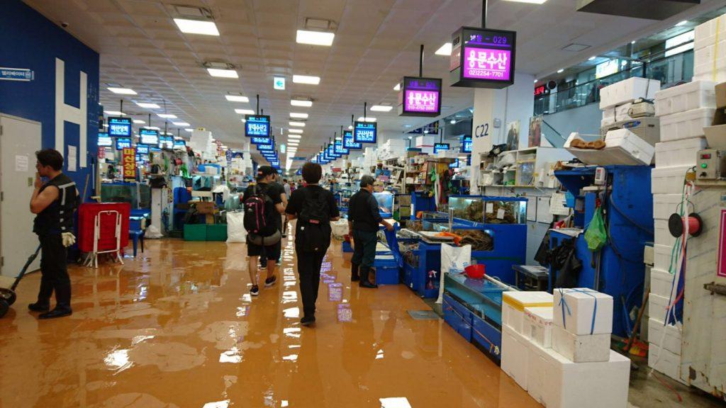 ノリャンジン水産市場