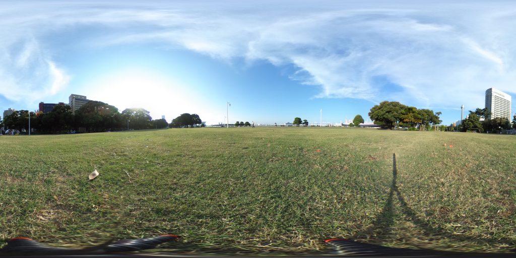 山下公園 芝生