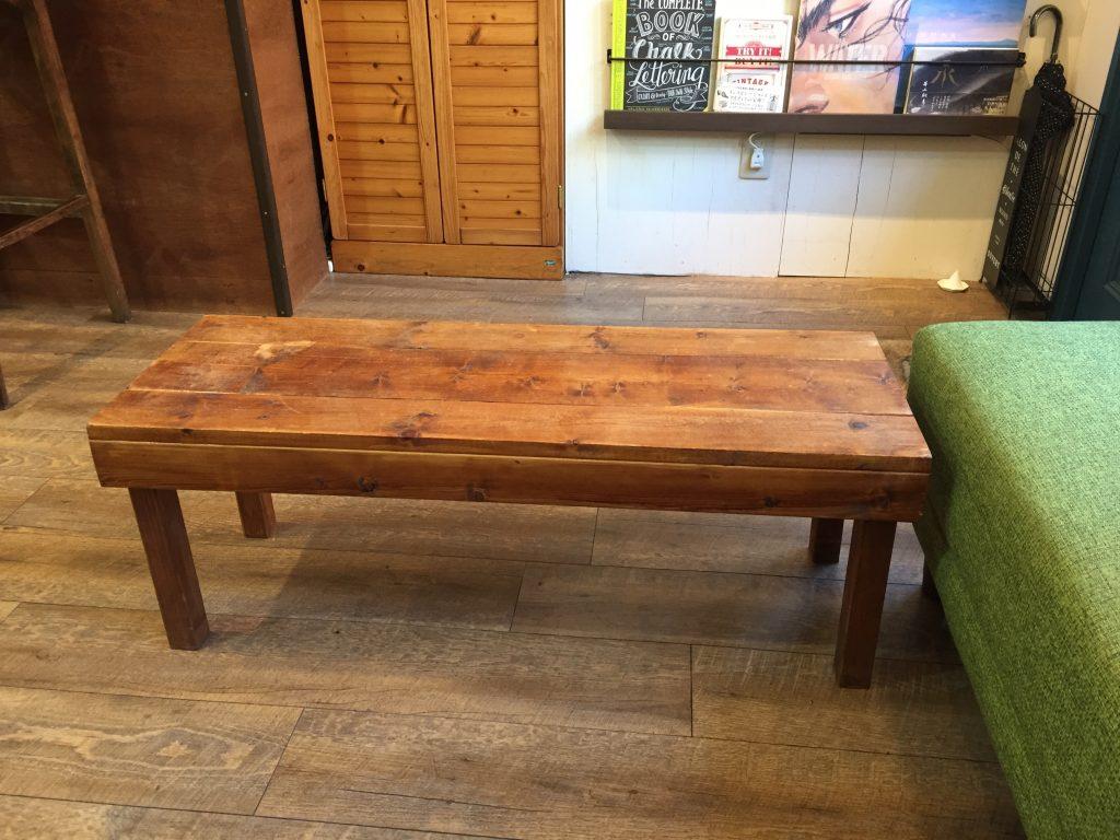 DIY ローテーブル