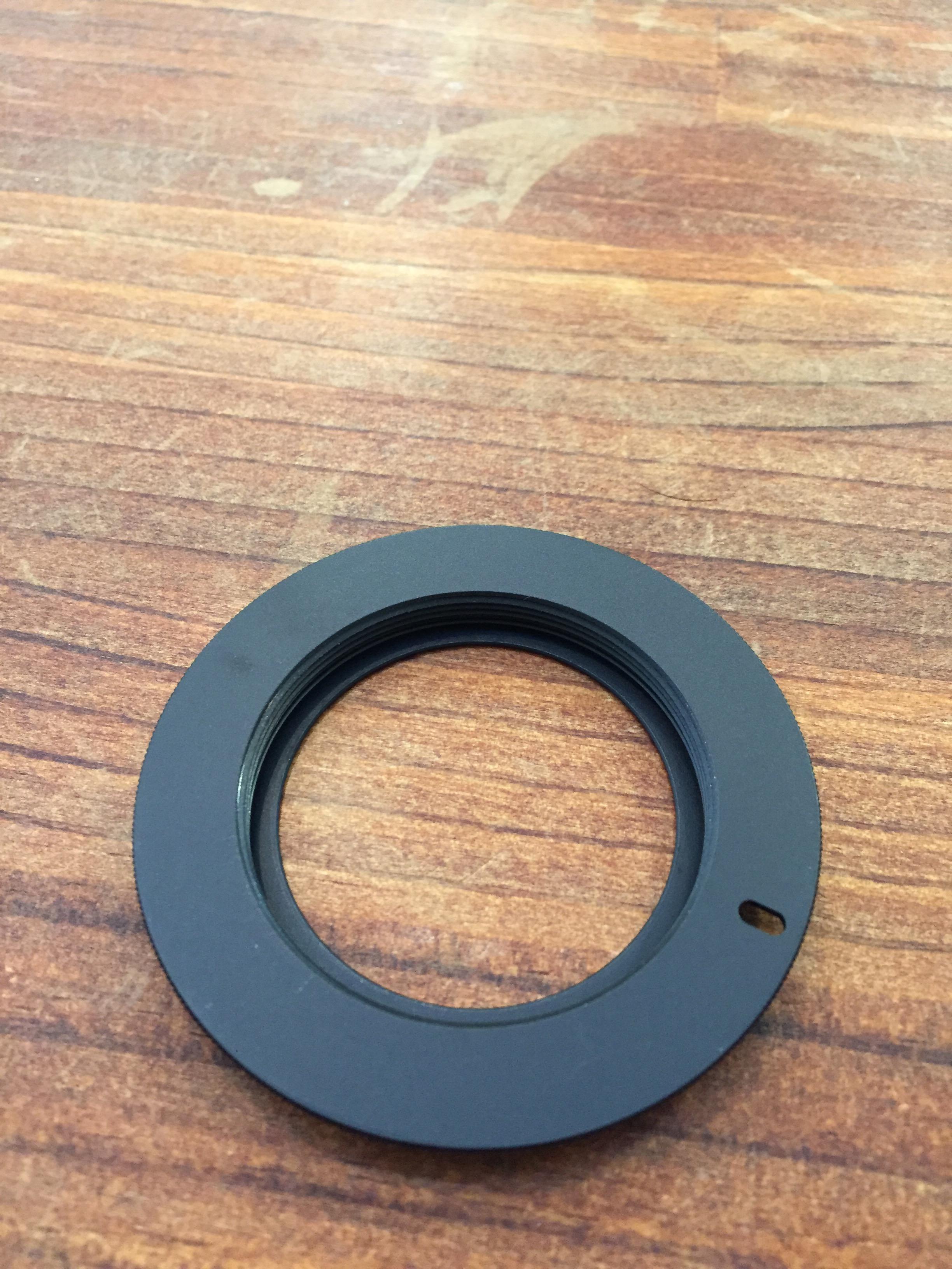 M42 NIKON Fマウント 変換アダプター ピン押しタイプ