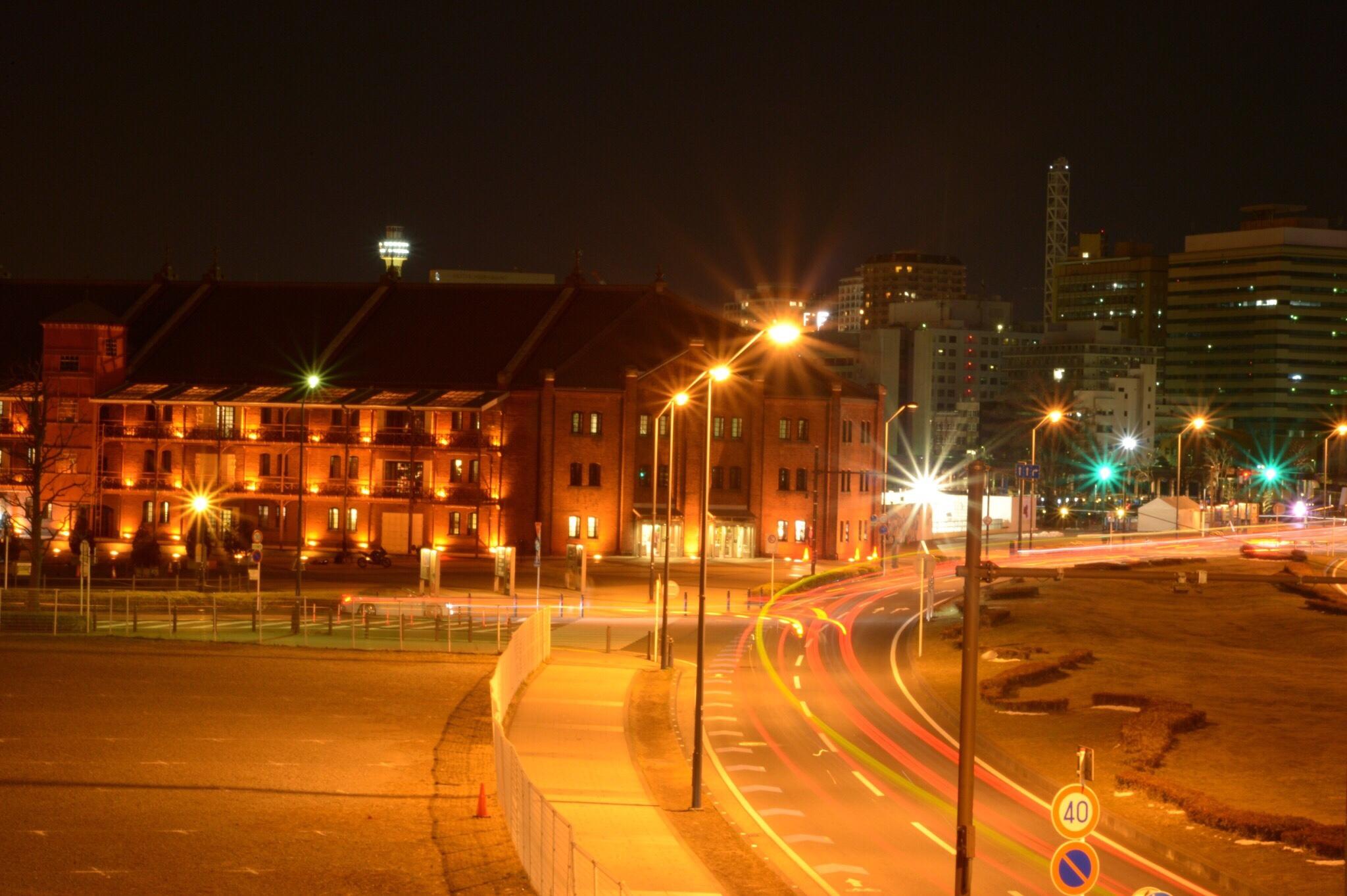 赤レンガ倉庫 横浜 夜景