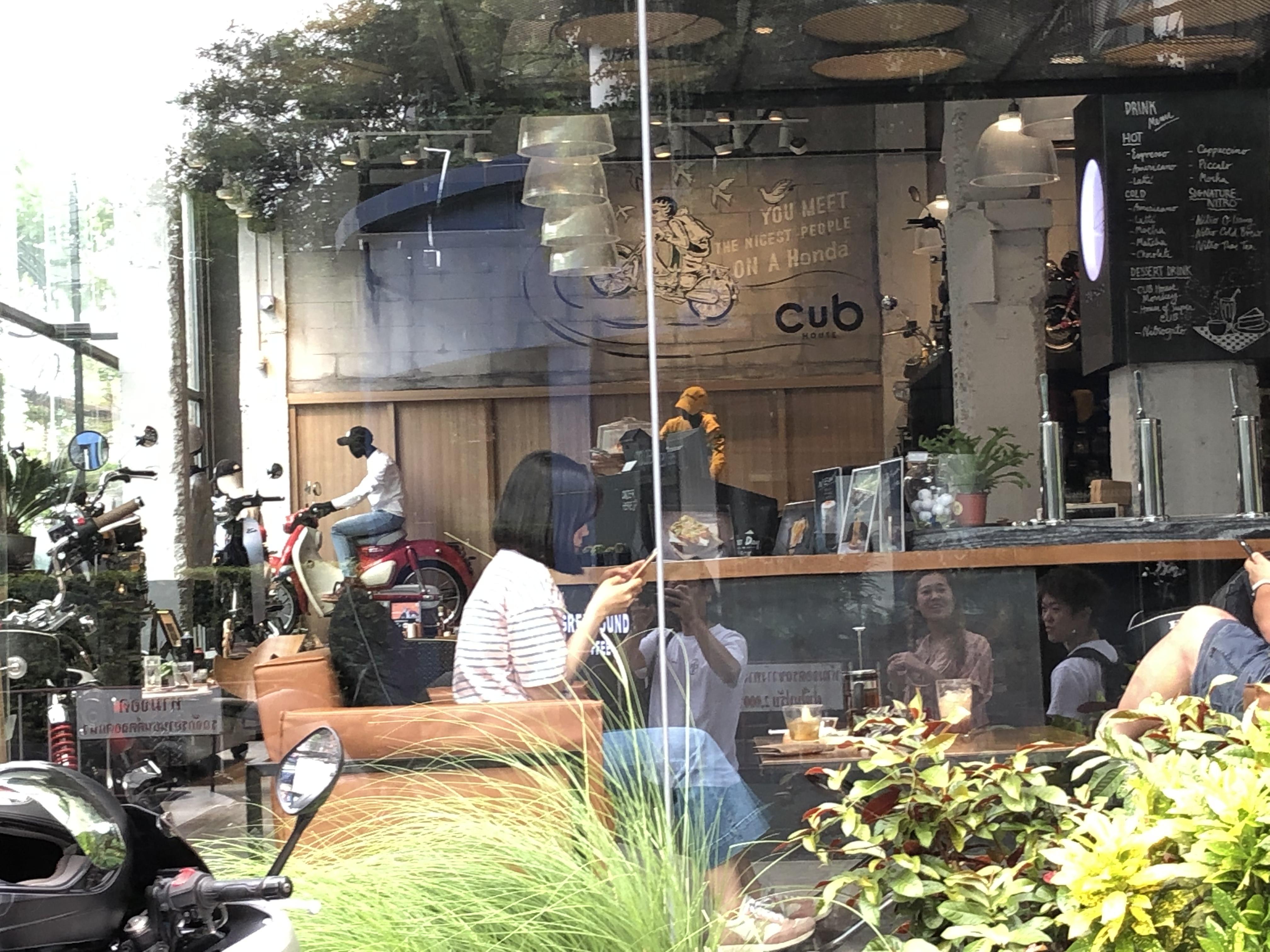 バイカーズカフェ
